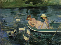 Mary Cassatt Summertime
