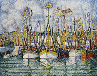Paul Signac Blessing of the Tuna Boats