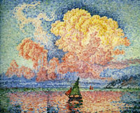 Paul Signac The Pink Cloud, Antibes