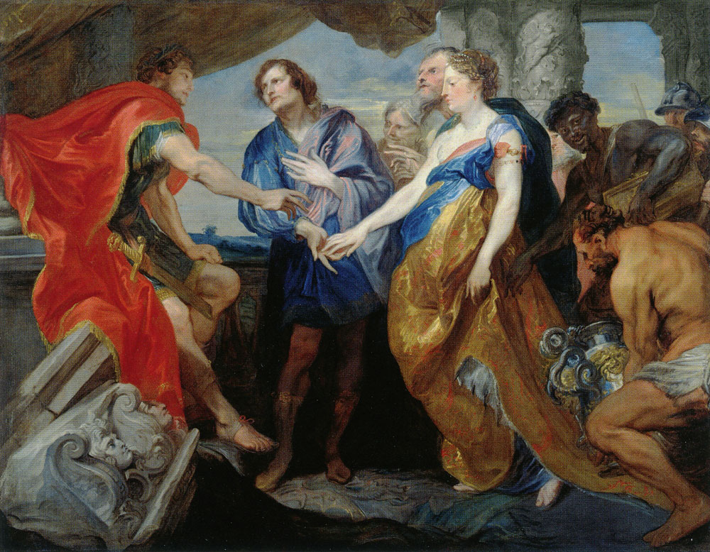 Anthony van Dyck - The Continence of Scipio