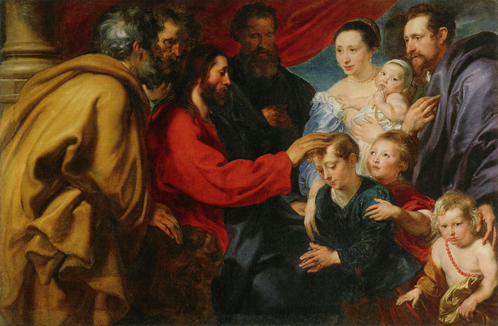Anthony van Dyck - Suffer Little Children to Come unto Me