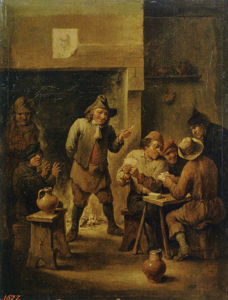 David Teniers the Younger - Peasants in a Tavern