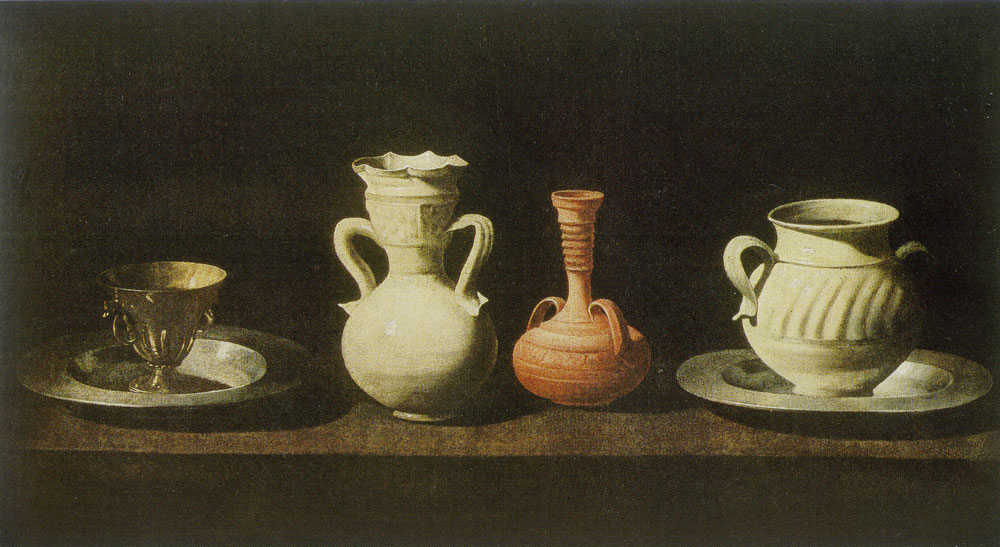 Francisco de Zurbarán - Still Life with Pottery Jars