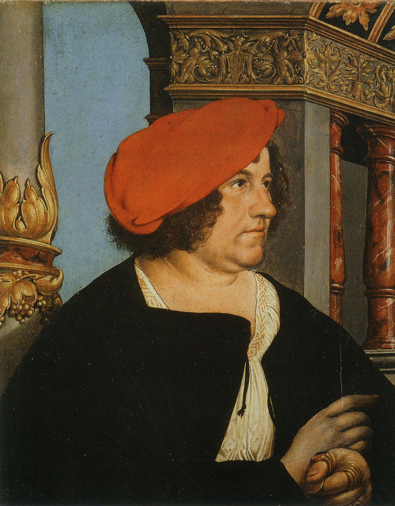 Hans Holbein the Younger - Jacob Meyer