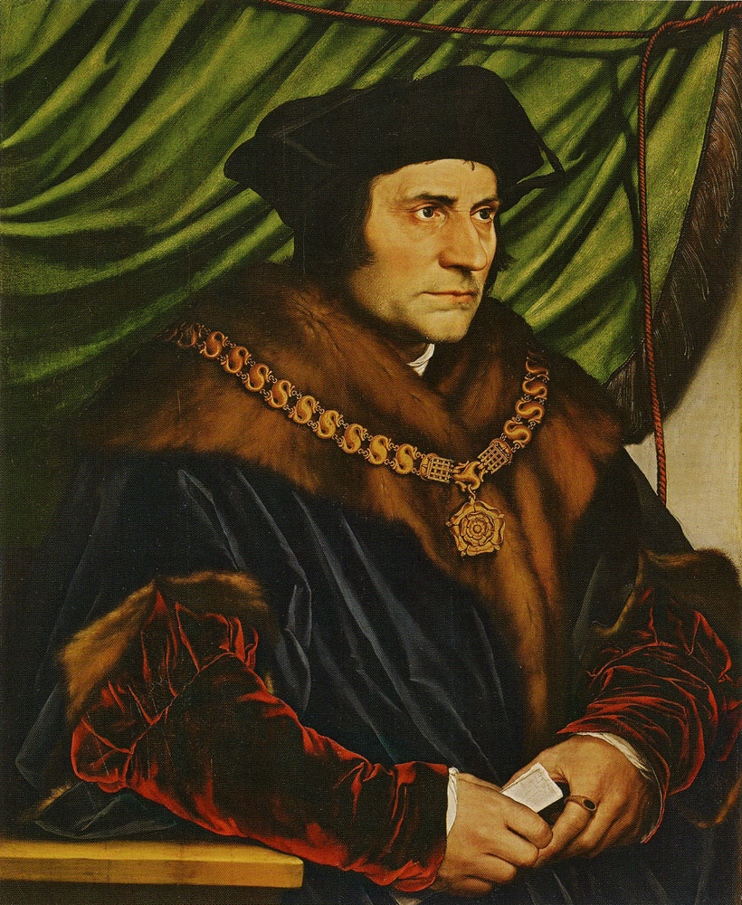 Hans Holbein the Younger - Thomas More