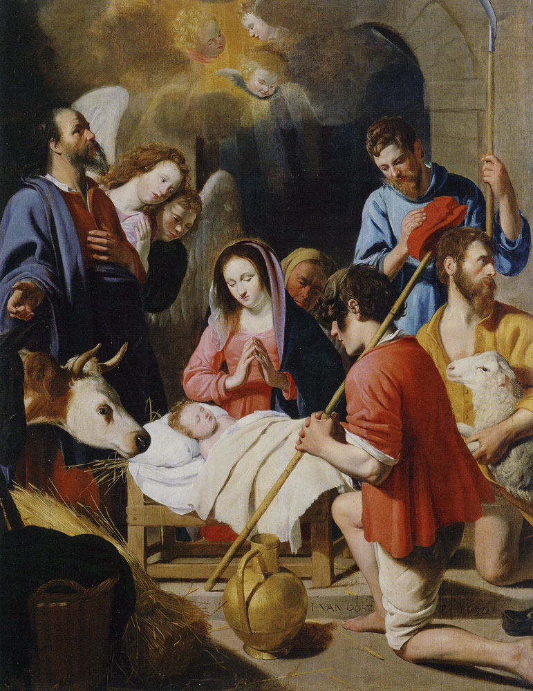 Jacob van Oost the Elder - Adoration of the Shepherds