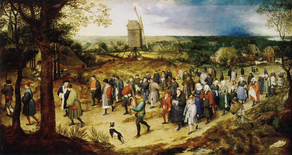 Jan Brueghel after Pieter Bruegel - Wedding procession