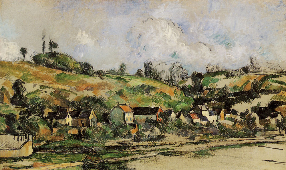 Paul Cézanne - The Hamlet of Valhermeil, near Pontoise