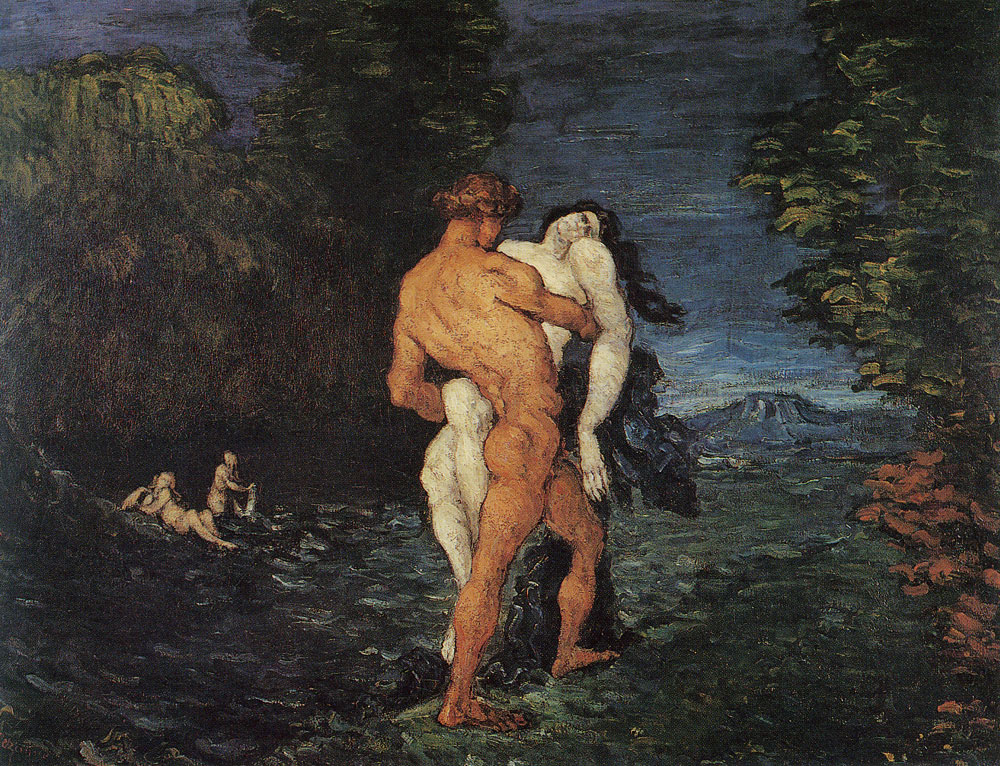 Paul Cézanne - The rape