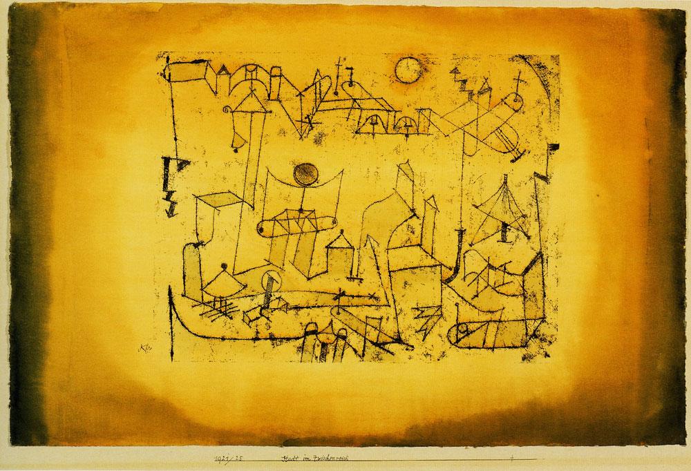 Paul Klee City In The Intermediate Realm