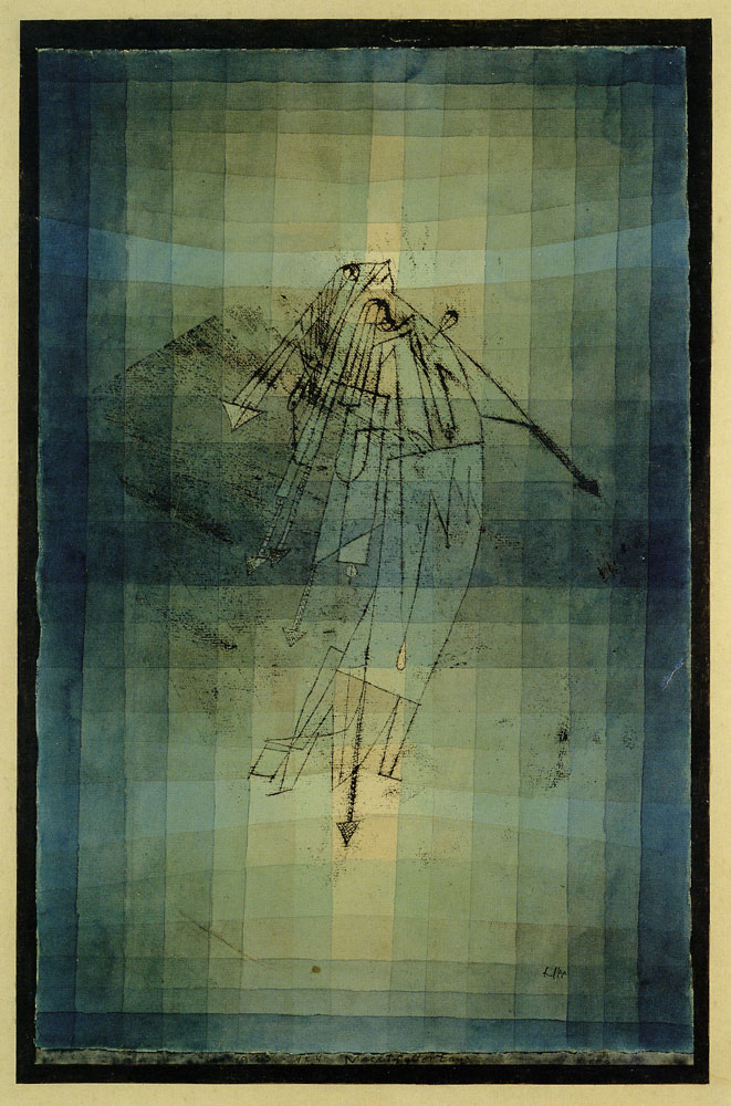 Paul Klee - Dance of the Moth