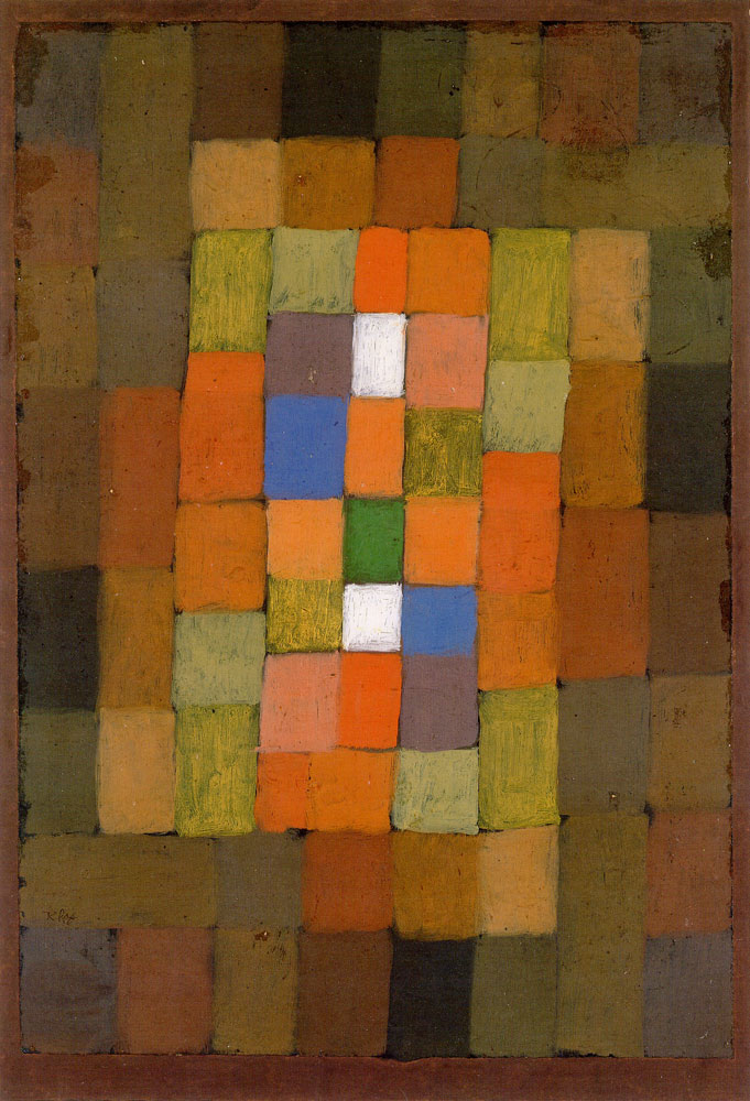 Paul Klee - Static-Dynamic Gradation