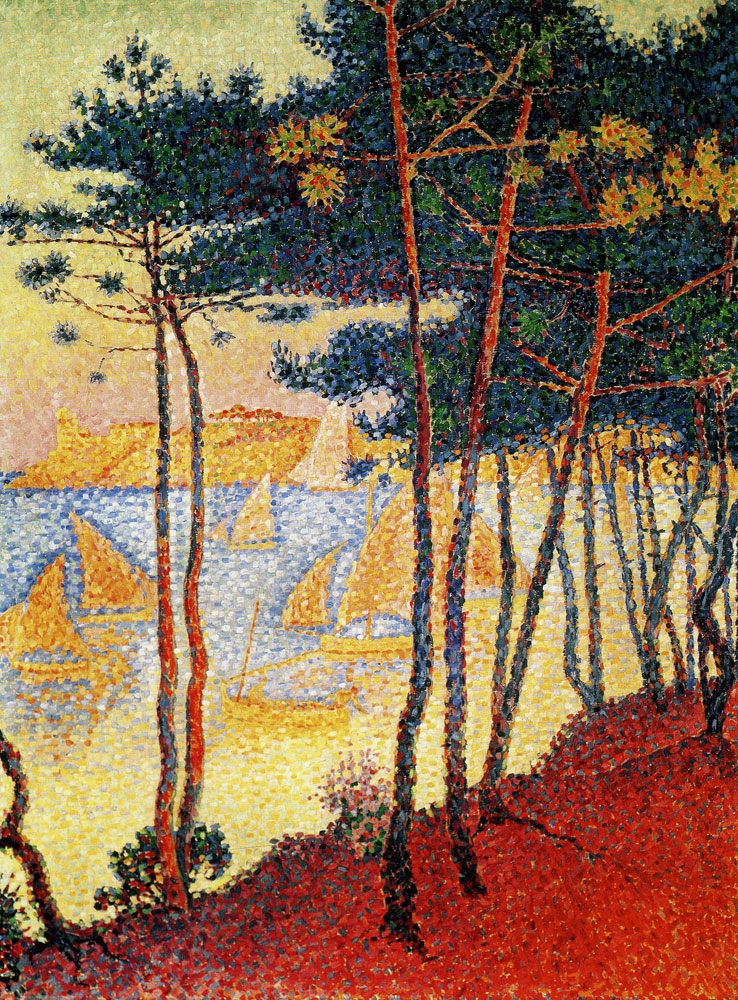 Paul Signac - Sails and Pines