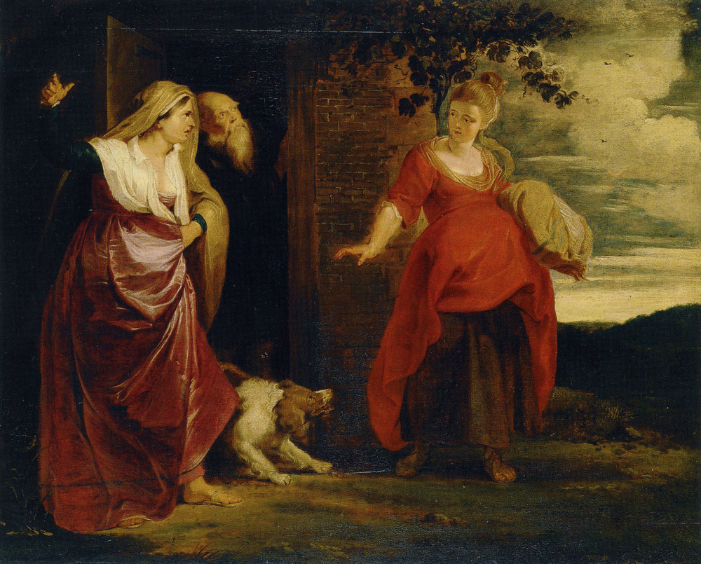 Peter Paul Rubens - The Expulsion of Hagar