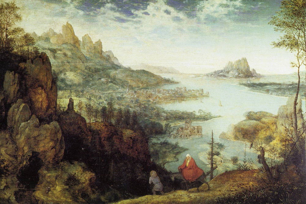 Pieter Bruegel the Elder - Flight into Egypt