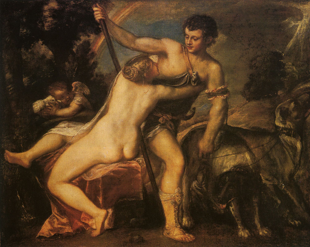 Titian - Venus and Adonis