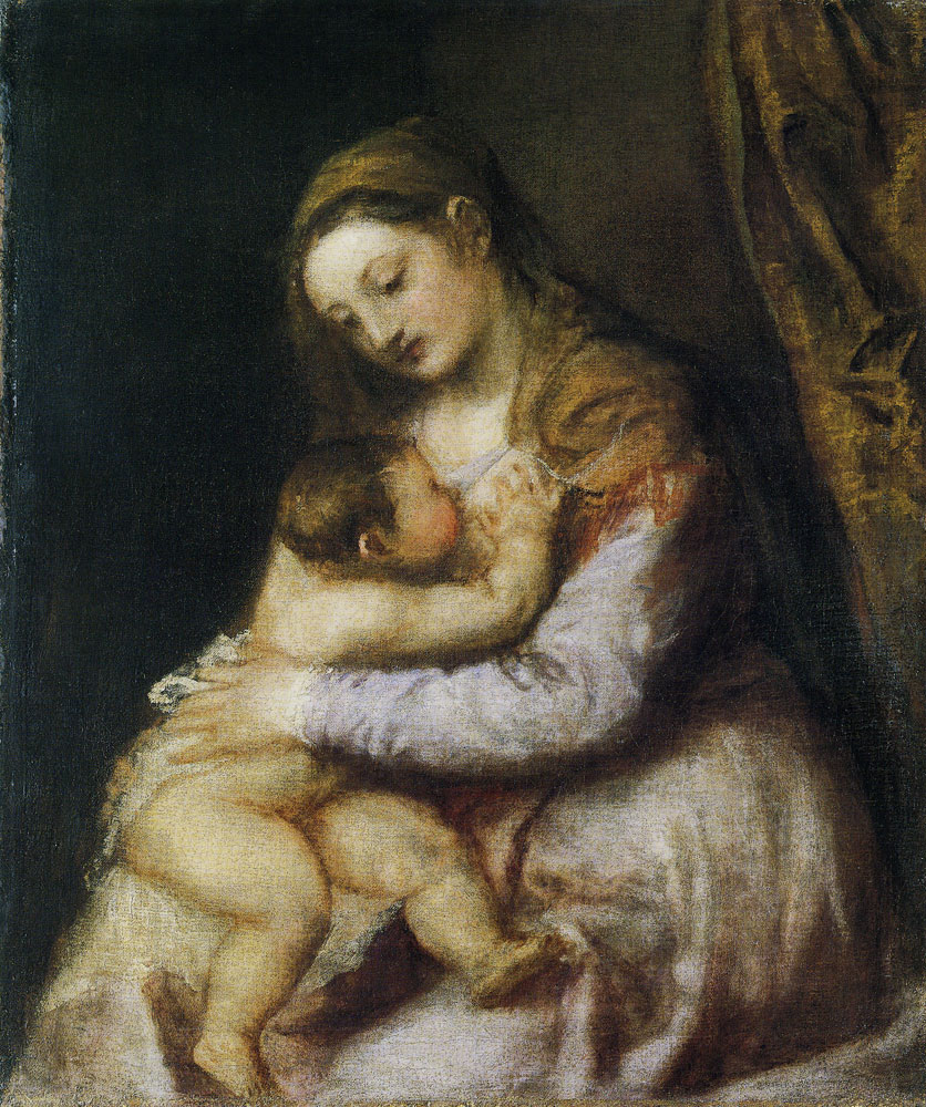 Titian - The Virgin and Child