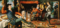 Pieter Aertsen The Egg Dance