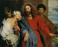 Anthony van Dyck The Healing of the Paralytic