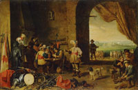 David Teniers the Younger Guardroom