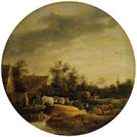 David Teniers the Younger Landscape with Cows