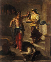 Eugène Delacroix The Beheading of John the Baptist