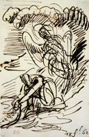 Eugène Delacroix Tobias and the Angel