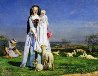 Ford Madox Brown 'The Pretty Baa-Lambs'