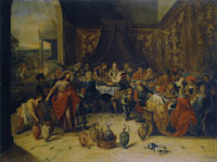 Frans Francken the Younger - The Marriage at Cana