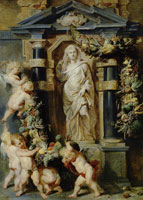 Peter Paul Rubens and Frans Snyders Statue of Ceres