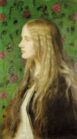 George Frederic Watts Portrait of Edith Villiers, Later the Countess of Lytton