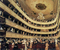 Gustav Klimt Auditorium of the Old Burgtheater