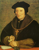 Hans Holbein the Younger Sir Brian Tuke