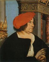 Hans Holbein the Younger Jacob Meyer