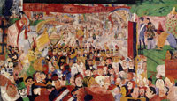 James Ensor Christ's Entry into Brussels in 1889
