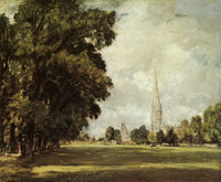 John Constable A View of Salisbury Cathedral