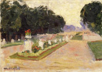 Albert Marquet Avenue in the Luxembourg Gardens