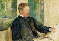 Mary Cassatt Portrait of Alexander J. Cassatt