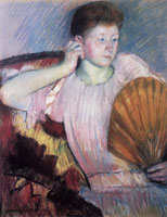 Mary Cassatt - Contemplation