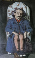 Paul Cézanne Portrait of the painter, Achille Emperaire