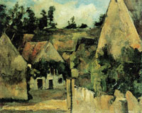 Paul Cézanne Crossroads of the Rue Rémy in Auvers-sur-Oise