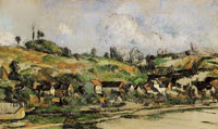 Paul Cézanne The Hamlet of Valhermeil, near Pontoise