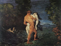 Paul Cézanne The rape