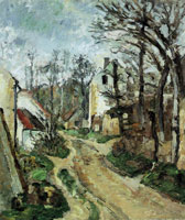 Paul Cézanne Road at Auvers-sur-Oise (rue de Pilonnes)