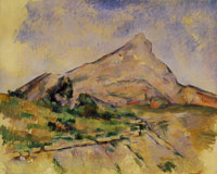 Paul Cézanne The mountain Sainte-Victoire