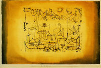 Paul Klee - City in the Intermediate Realm