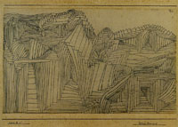 Paul Klee Rock-Cut Temple