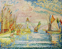 Paul Signac The Lighthouse, Groix