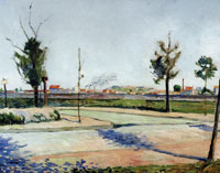 Paul Signac The Road to Gennevilliers
