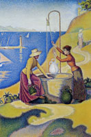 Paul Signac Women at the Well, Opus 238